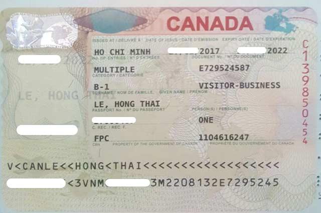 kết quả visa canada