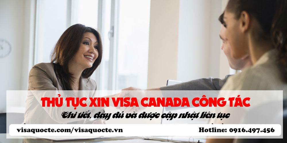 visa Canada công tác